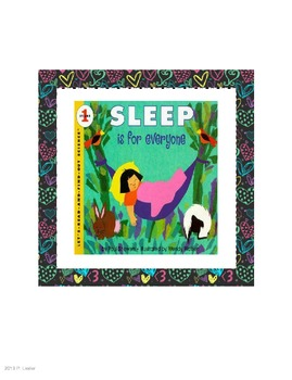 Harcourt Trophies Anthology 5 Sleep is For Everyone (Grade 1)