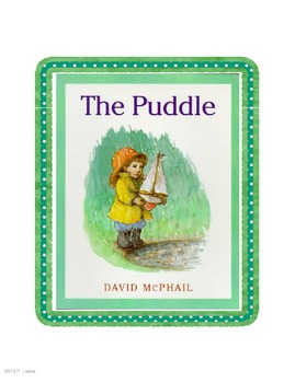 Harcourt Trophies Anthology 5 The Puddle (Grade 1)
