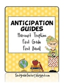 Harcourt Trophies Anticipation Guides: First Grade, First Basal
