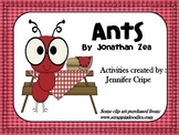Harcourt Trophies ~ Ants story activities