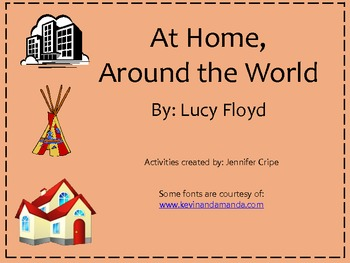 Harcourt Trophies ~ At Home, Around the World story activities