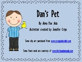 Harcourt Trophies ~ Dan's Pet story activities