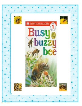 Harcourt Trophies First Grade Busy Buzzy Bee