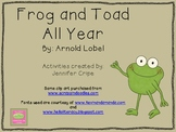 Harcourt Trophies ~ Frog and Toad All Year