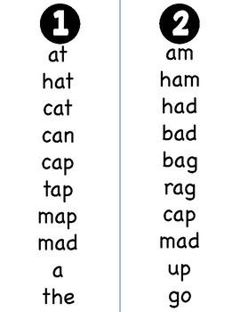 Harcourt Trophies Grade 1 Spelling Words Fluency Booklets