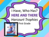 """Harcourt Trophies Here and There """"I HAVE, WHO HAS"""" Sight Word Practice"""