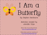Harcourt Trophies ~ I Am a Butterfly story activities