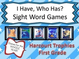 """Harcourt Trophies """"I HAVE, WHO HAS?"""" Sight Word Practice All Year - 35 Games"""