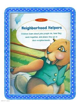 Harcourt Trophies Kindergarten Theme 10 Week 1 2  3
