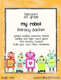 """Harcourt Trophies """"My Robot"""" Literacy Packet"""