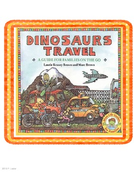 Harcourt Trophies Second Grade book 5 Dinosaurs Travel
