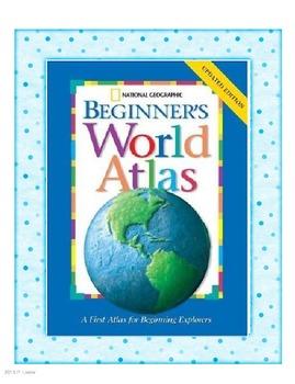 Harcourt Trophies Second grade Book 5 Beginner's World Atlas