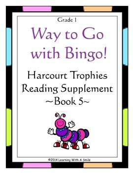 Harcourt Trophies Supplement (Book 5) ~ Grade 1 ~Bingo-Style Game
