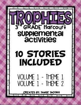 Harcourt Trophies Supplemental Resources (Theme 1 and 2)