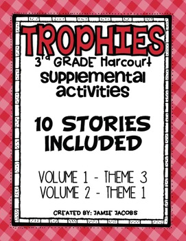 Harcourt Trophies Supplemental Resources (Theme 3 and 4)