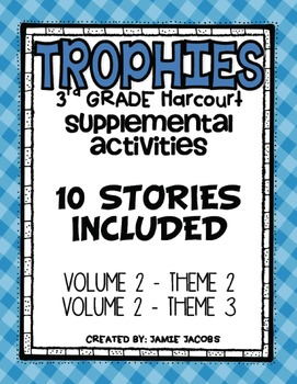 Harcourt Trophies Supplemental Resources (Theme 5 and 6)
