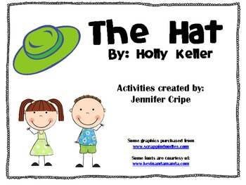 Harcourt Trophies ~ The Hat story activities