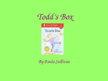 Harcourt Trophies Todd's Box 1st grade