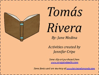 Harcourt Trophies ~ Tomás Rivera story activities