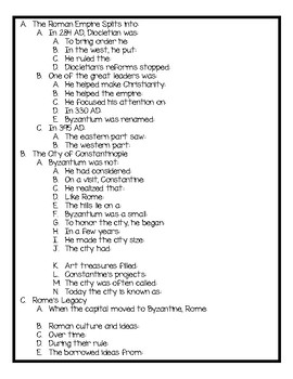 Harcourt World History Chapter 10 Notes and Activities for Students!