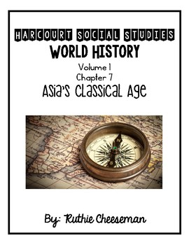 Harcourt World History Chapter 7 Notes and Activities for Students!