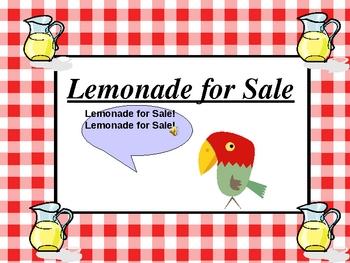 Harcourt's Lemonade for Sale Comprehension  Interactive Powerpoint