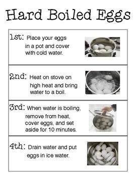 Hard Boiled Egg Simple Recipe