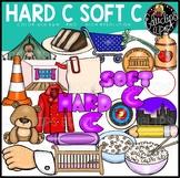 Hard C Soft C Clip Art Bundle {Educlips Clipart}
