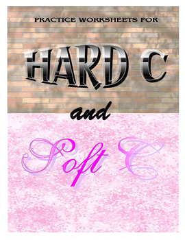 Hard C and Soft C Phonics Practice Worksheet