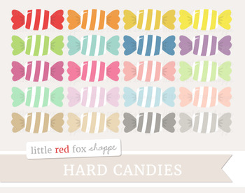 Hard Candy Clipart; Dessert, Halloween