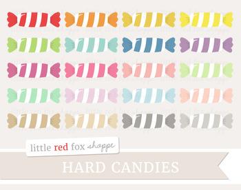 Hard Candy Clipart; Dessert, Halloween
