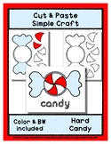 Hard Candy - Cut & Paste Craft - Super Easy perfect for Pr