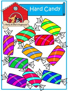 Hard Candy *Penny & Ellie's Doghouse Clipart*