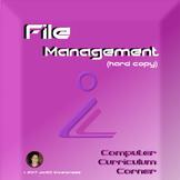 Hard Copy File Management