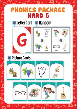 Hard 'G' Phonics Resource Package
