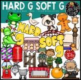 Hard G Soft G Clip Art Bundle {Educlips Clipart}