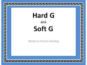 Hard G & Soft G   PowerPoint