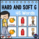 Hard and Soft G Pocket Charts