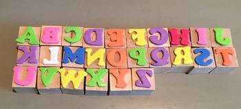 Hard Good: Letter Stamps