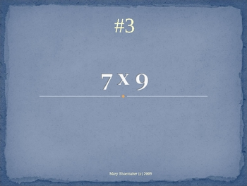 Think Quick PowerPoint: Hard Multiplication