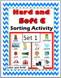 Hard and Soft C Sorting plus Worksheets & Posters - Set 1 (Hard C & Soft C)