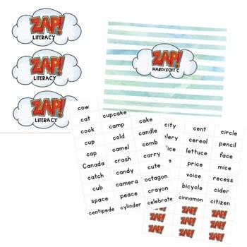 Hard/Soft C - ZAP literacy game