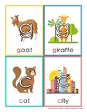 """Hard & Soft """"C"""" and """"G"""" Flashcards (Embedded)"""