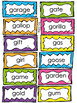 Phonics- Letter Sounds - Hard & Soft Sort for Letters Gg & Cc