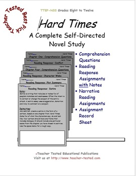 Hard Times: A Complete Novel Study