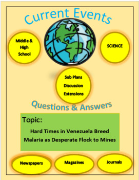 Current Events Science:Hard Time in Venez. Breed Malaria Desperate Flock to Mine