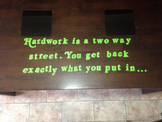 Hard Work Inspirational Quote