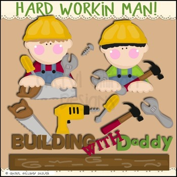 Hard Working Man Clipart Collection
