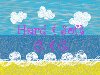 Hard and Soft C & G Beach Ball -Orton Gillingham