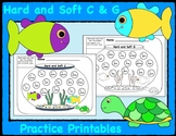 Hard and Soft C & G Practice Printables